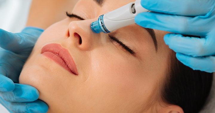 Hydrafacial процедура очищения и увлажнения кожи лица, шеи (Очищение кожи лица и шеи)